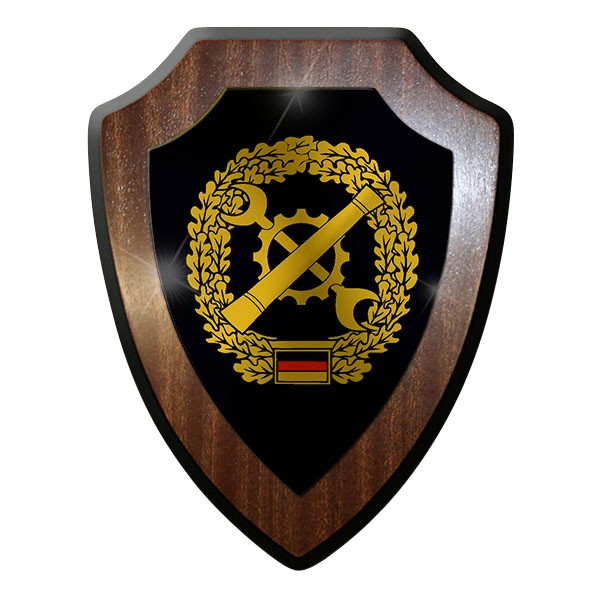 Wappenschild / Wandschild - Instandsetzung Deutschland Bundeswehr Emblem#7393