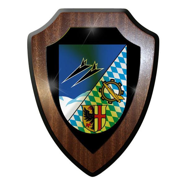 Wappenschild / Wandschild / Wappen - JaboG34 Jagdbomber Geschwader Inst #10053