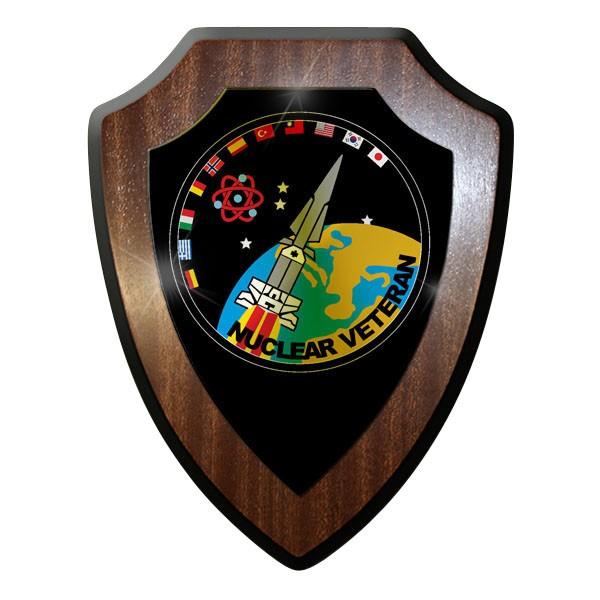 Wappenschild / - Nuclear Veteran Hercules Rakete Atom Abzeichen Emblem #10044