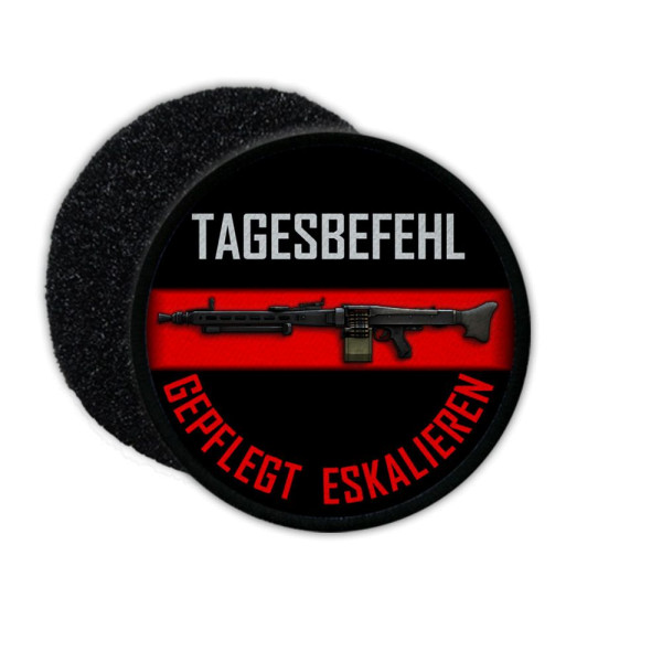 Patch daily command MG3 Maintained escalate Bundeswehr service shooting # 35996