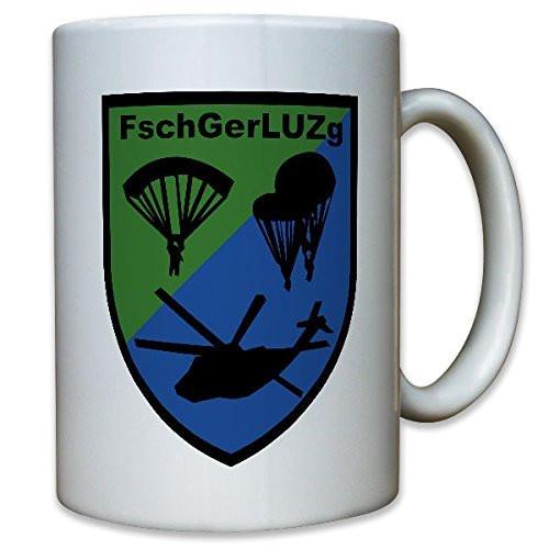 FschGerLUZg Fallschirmgeräte Luftumschlagzug 262 - Tasse Kaffee Becher #10694