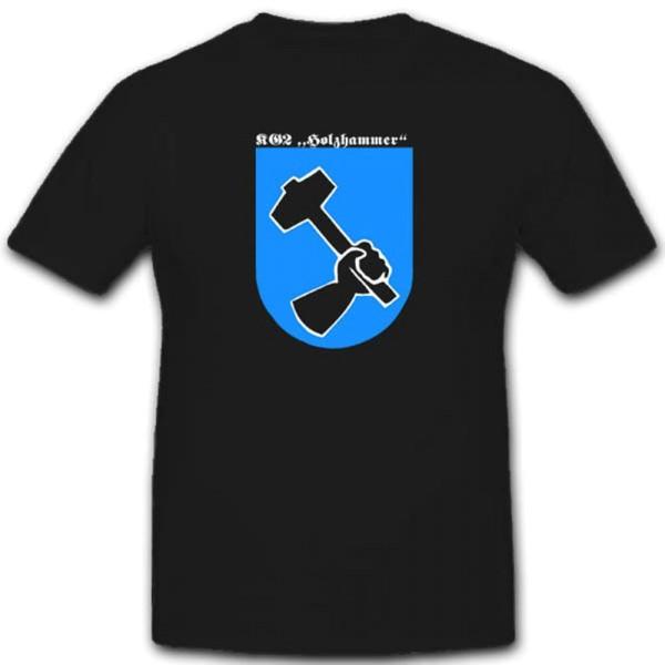 Kg 2 Holzhammer Kampfgeschwader 2 Luftwaffe WH Militär Einheit T Shirt #2511