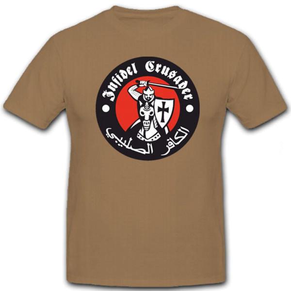 Infidel Crusader- T Shirt #6121