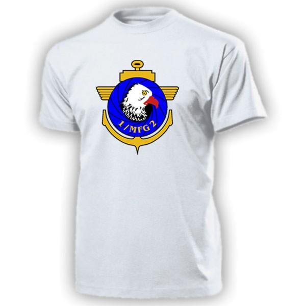 MFG 2 Marinefliegergeschwader Staffel 1 Bundeswehr Wappen - T Shirt #13113