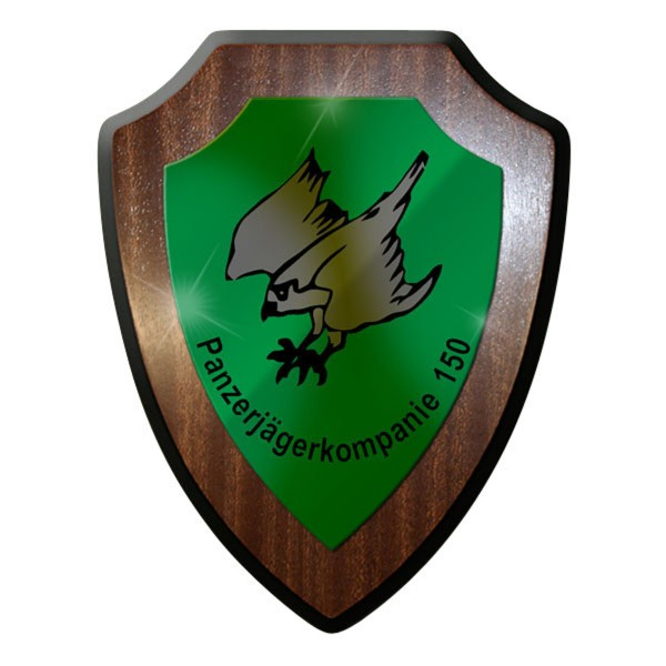 Wappenschild / Wandschild / - Panzerjägerkompanie PzJgKp 150 #8872