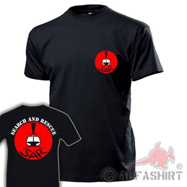 SAR Search and Rescue Logo militärischen Such- Rettungsdienstes - T Shirt #17681