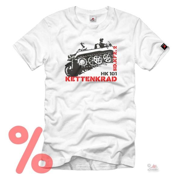 Gr. L - SALE Shirt Kettenkrad Hk101 Sd Kfz Deutschland Kette Motorad #R1070