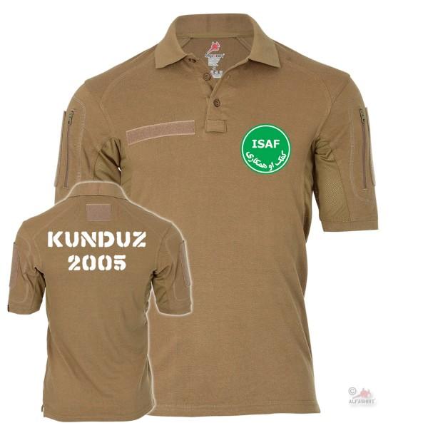 Tactical Poloshirt Alfa - ISAF Veteran Kunduz 2005 Auslandseinsatz #19052