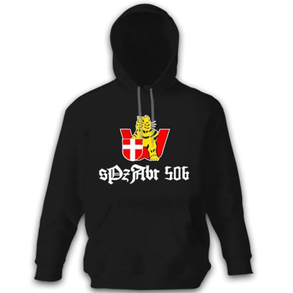 sPzAbt 506 Heavy Tank Department 506 Vienna Coat of Arms Badge Hoodie # 12239