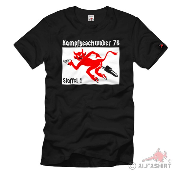 Combat Squadron 76 Season 1 KG76 Air Force Squadron Coat of Arms - T Shirt #1080