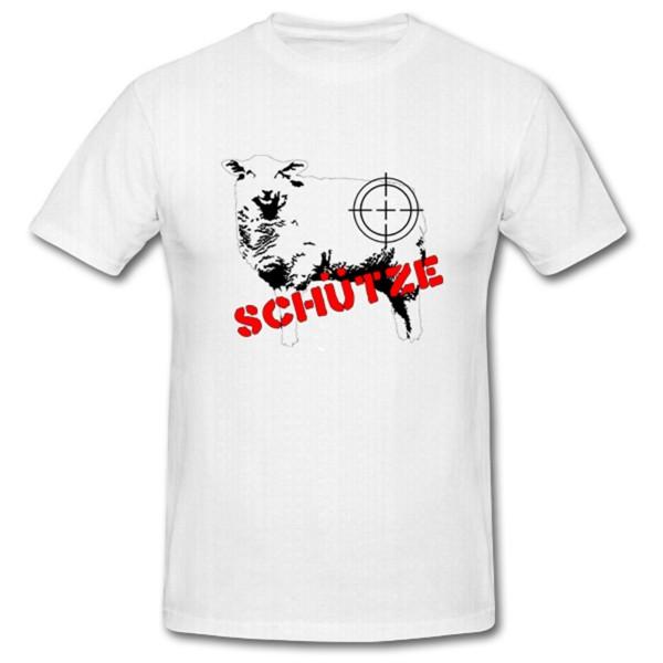 Schaaf-Schütze Scharfschütze Sniper Shooter Fun Humor Spaß - T Shirt #1015