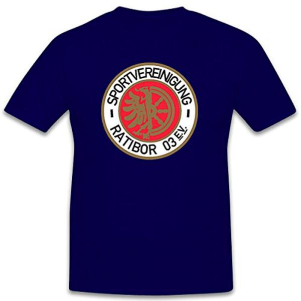 Sportverinigung Ratibor 03 EV ehemaliger deutscher Fußballverein T Shirt #12412