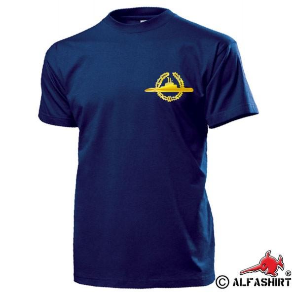 U-Boot Abzeichen GOLD Tätigkeitsabzeichen Marine Bundesmarine - T Shirt #15845