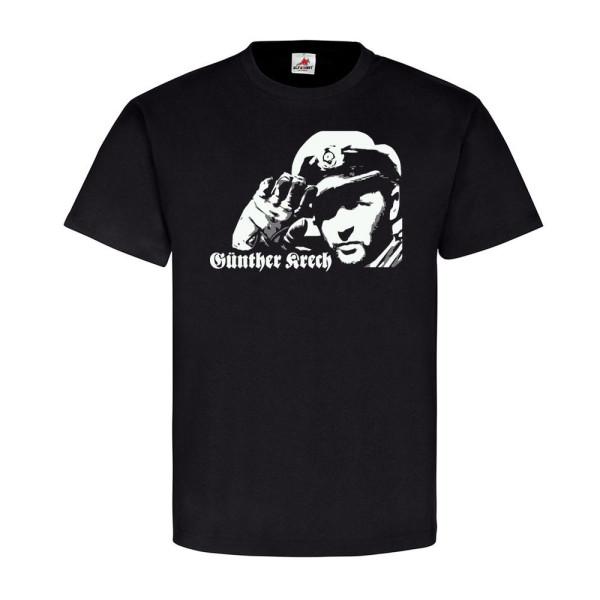 KaLeu Kapitänleutnant Günther Krech Graue Wölfe Marine U-Boot - T Shirt #14076