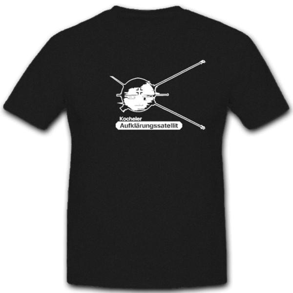 Kocheler Aufklärungssetellit Geheimprojekt Weltall - T Shirt #12834