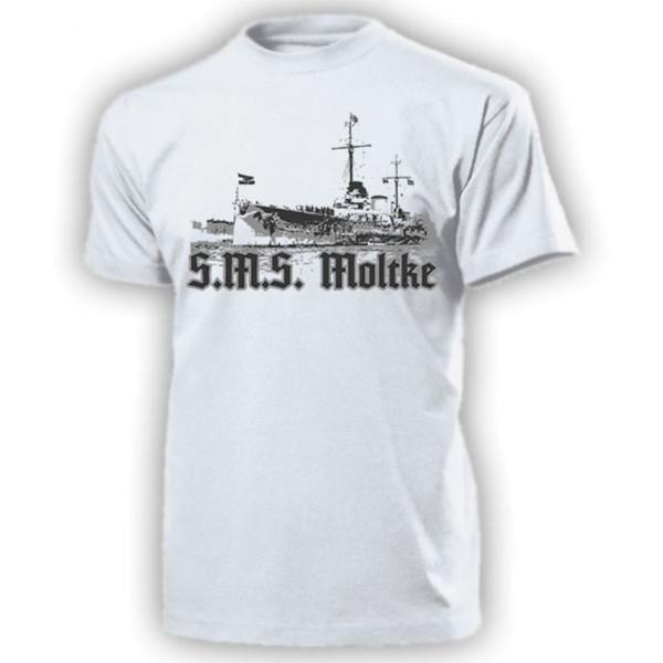 SMS Moltke Big Cruiser Battlecruiser Imperial Navy T Shirt # 15726