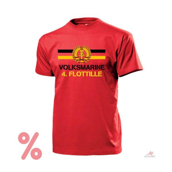 SALE T Shirt Volksmarine 4.Flottille NVA National People's Army - T Shirt # R191