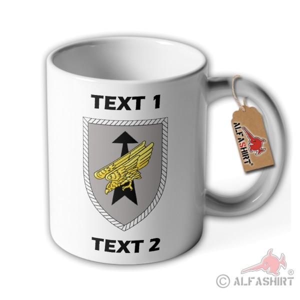 Mug DSK personalized custom text badge # 36327