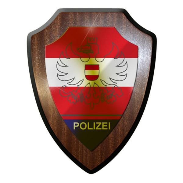 Wappenschild / Wandschild - Exekutivdienstabzeichen Bundespolizei Polizei #12929