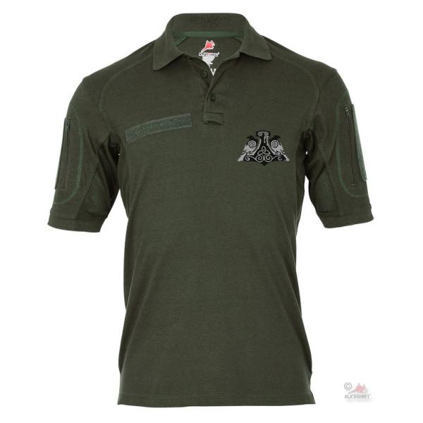 Tactical polo shirt Alfa - Viking ravens Hugin and Munin Thor's Hammer # 18980