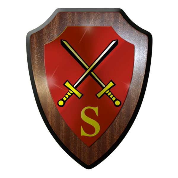 Wappenschild / Wandschild - Stabsschule des Heeres Schule Bundeswehr #8808