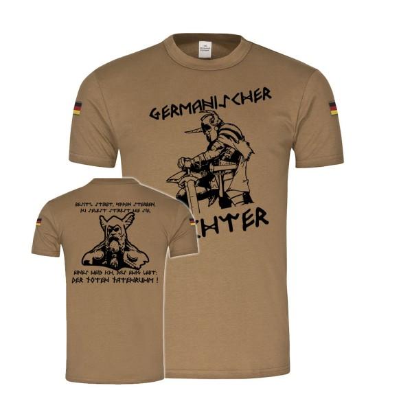Bw Tropen Germanischer Wächter Germanen Wikinger Heimdall Odin T-Shirt#33830