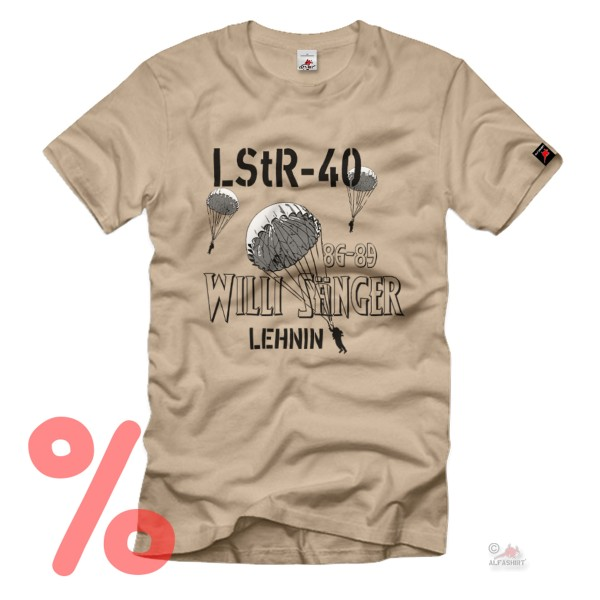 Gr. XL - SALE Shirt LStR 40 Willi Sänger Luftsturmregiment Fallschirmjäger #R30