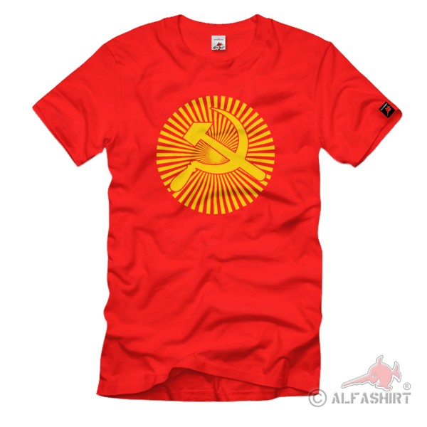 Russia Moscow Semi-Presidential Republic State Sickle Soviet USSR T Shirt # 1242