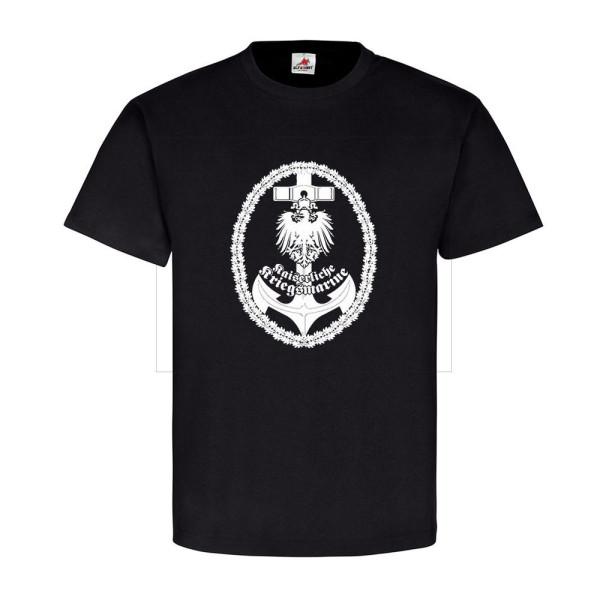 Kaiserliche Marine Anker Eichenlaub Adler Fiktiv Unikat- T Shirt #11036