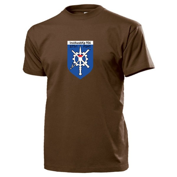 InstAusbKp 906 Instandsetzungsausbildungskompanie TSH-FSHT - T Shirt #14228
