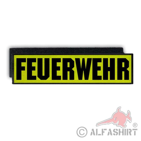 Rückenpatch Feuerwehr Abzeichen Freiwillige Firfighter Ehrenamt Rettung #33494