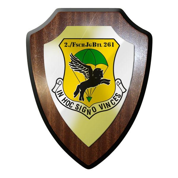 Wappenschild 2. Kompanie Fallschirmjäger Bataillon 261 FschJgBtl Lebach #9229