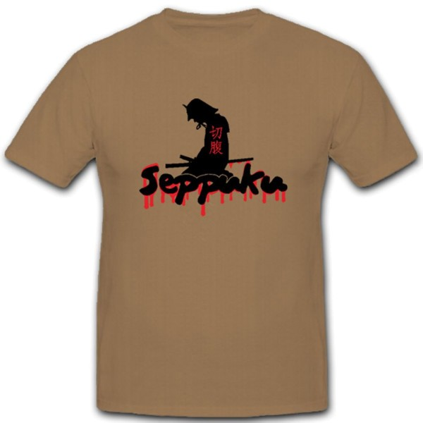 Seppuku ritualisierte Art des männlichen Harakiri Ehre - T Shirt #11151