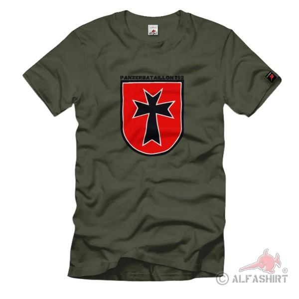 PzBtl 282 Bataillon Panzerbataillon Truppe Verband Bundeswehr - T Shirt #1399