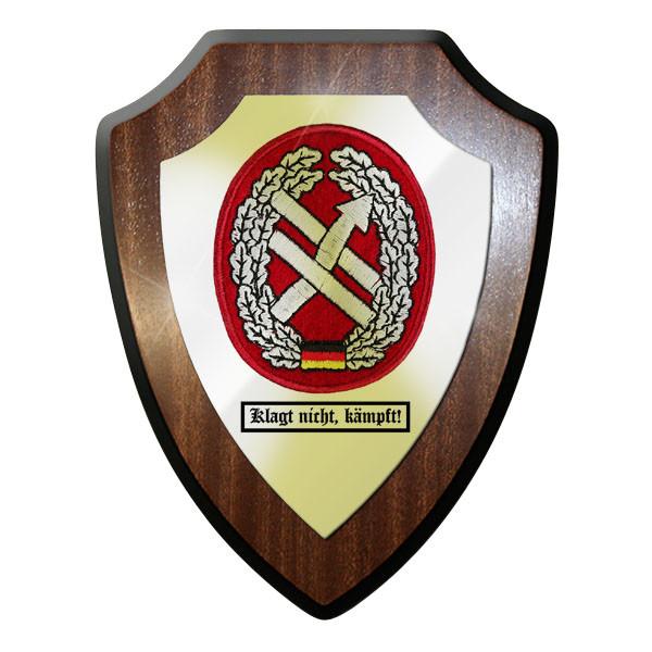 Wappenschild - Barettabzeichen PSV OpInfo klagt nicht, kämpft! #11690