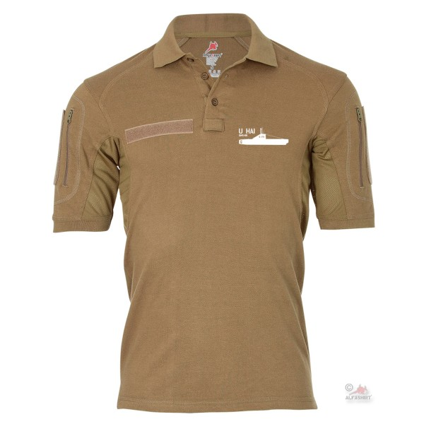 Tactical polo shirt Alfa - U Hai S170 Federal Navy U2365 Coastal U Boot # 19073
