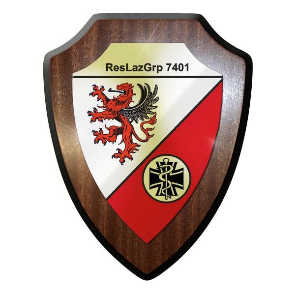 Wappenschild- ResLazGrp 7401 Reservelazarettgruppe Bundeswehr Heer #11999