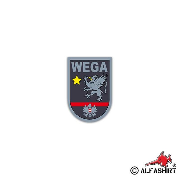 Aufkleber/Sticker WEGA Sondereinheit Einsatzeinheit Wien Austria 5x7cm A2578