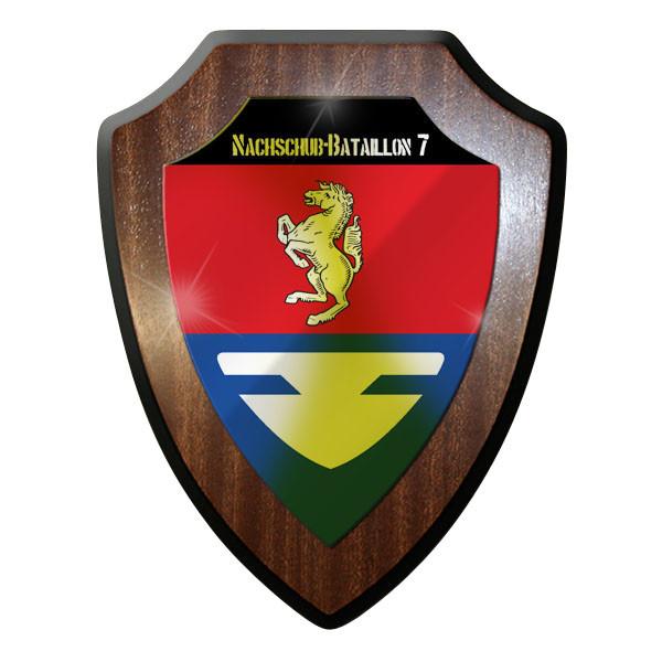 Wappenschild - Nachschub-Bataillon 7 NschBtl 7 Bundeswehr Bund Bw Emblem #10011
