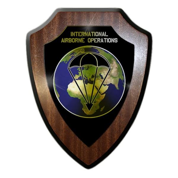 Wappenschild / Wandschild -INTERNATIONAL AIRBORNE OPERATIONS Wappen #14995