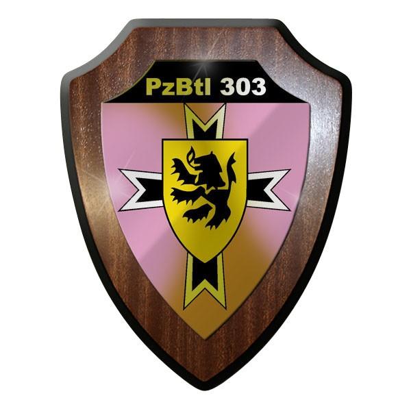 Wappenschild -PzBtl 303 Panzerbataillon Panzer Bataillon Bundeswehr #9336
