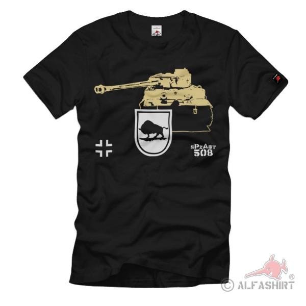 Heavy Panzer Department 508 sPzAbt Heer Schwerer Tiger T-Shirt # 1312