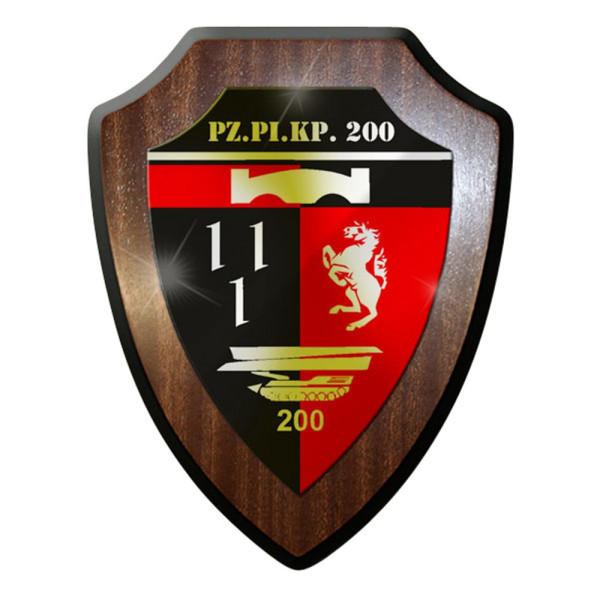 Wappenschild PzPiKp 200 Panzer Pionier Kompanie Bundeswehr Bund Soldaten #8397