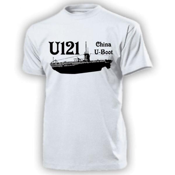 U121 China UBoot Typ II B Marine Unterseeboot - T Shirt #13244