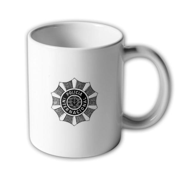Tasse Polícia Internacional e de Defesa do Estado PIDE Portugal Geheim-Polizei #33557