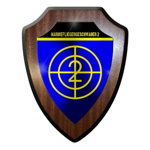 Wappenschild / Wandschild / Wappen - Marinefliegergeschwader MFG 2 deutsch#8381