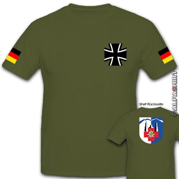 GebSanRgt 42 Gebirgssanitätsregiment Sanitäter Sani BW Kreuz - T Shirt #10625