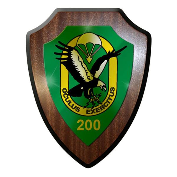 Wappenschild / Wandschild - Fespähkp 100 Fernspäh Kompanie Bundeswehr Dso #7352