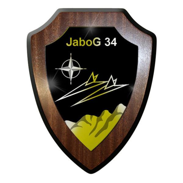 Wappenschild / Wandschild / Wappen - JaboG 34 Jagdbombergeschwader #8371