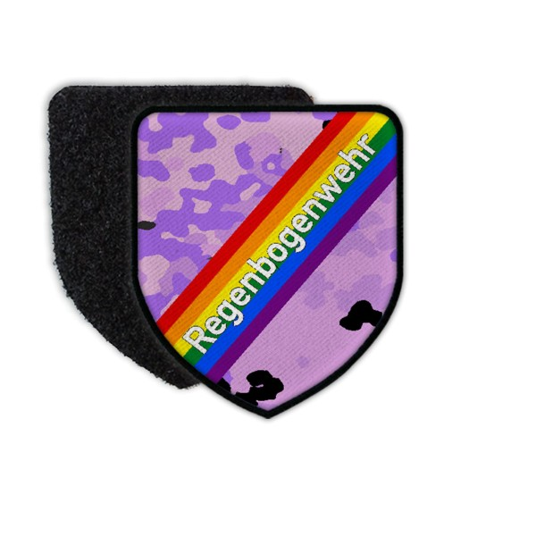 Patch Rainbow Weir Parade Fun Unicorn Gay Camouflage Pattern 2021 Rain # 35887